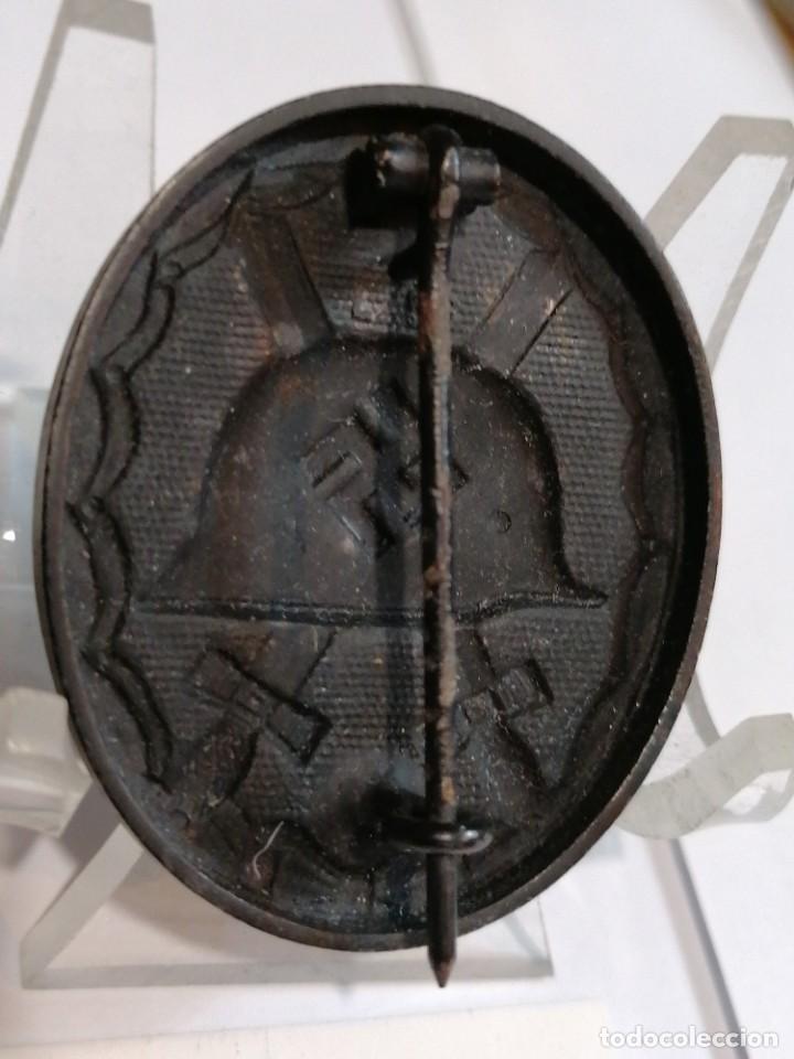 Militaria: Distintivo de herido negro de Wehrmacht - Foto 2 - 202610255