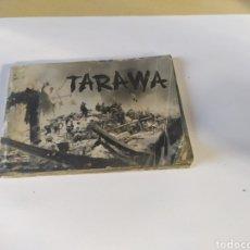 Militaria: EEUU TARAWA FOLLETO 35 FOTOS DE LA SENGUDA GUERRA MUNDIAL.1944.. Lote 200303612