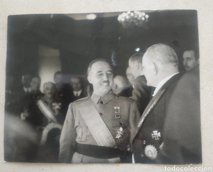 FRANCO Y VON FAUPEL (Militar - II Guerra Mundial)