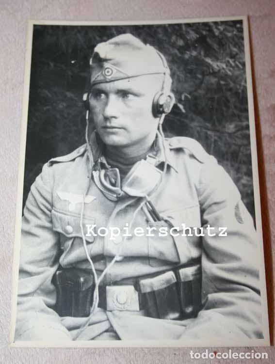 Militaria: Auriculares Dfh.a para operador de radio. Wehrmacht, Luftwaffe, AfriKa Korps, SS, 2ªGM - Foto 8 - 201144671