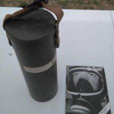 Militaria: ESTUCHE/BOTE PARA MASCARA DE GAS DE II GUERRA MUNDIAL Y UN MANUAL DE MASCARA DRÄGER DE LOS 80 --ZXY. Lote 203306436