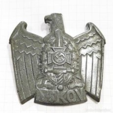 Militaria: INSIGNIA DE GORRA DEL NSKOV. ALTO 4,5 CM. NAZI. III REICH.. Lote 203536560