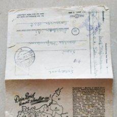 Militaria: FELDPOST DE 1944. Lote 203861747