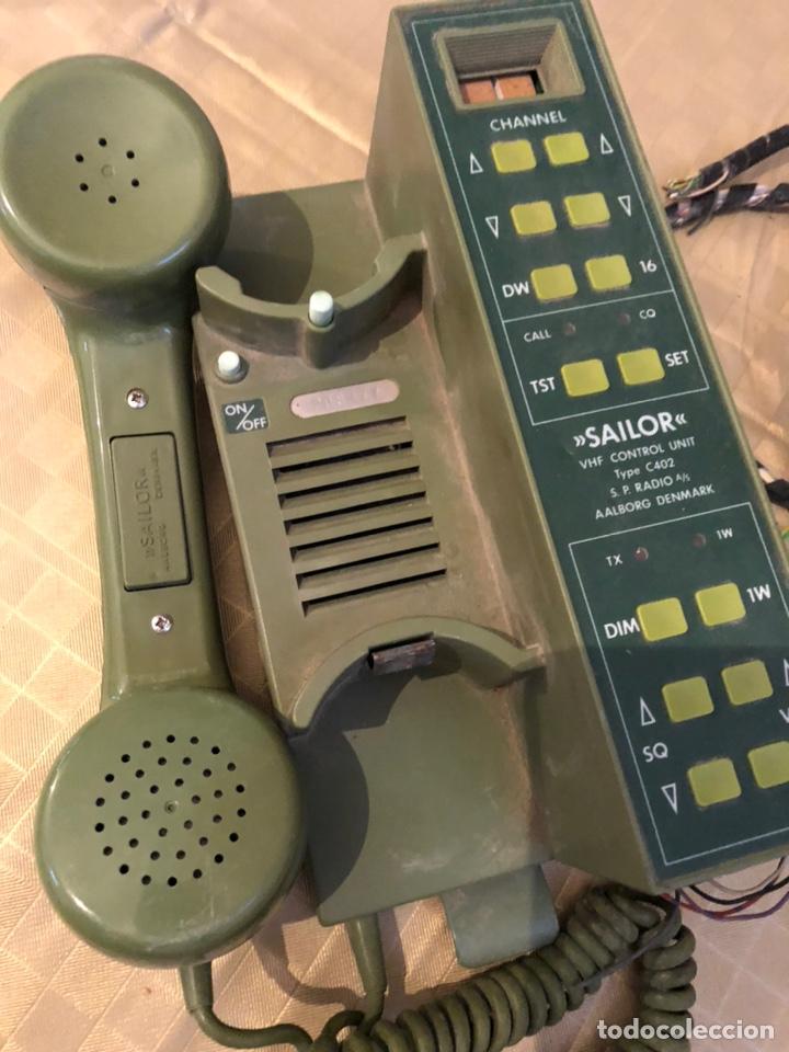 Militaria: SAILOR C402 VHF CONTROL UNIT - Foto 5 - 204327702