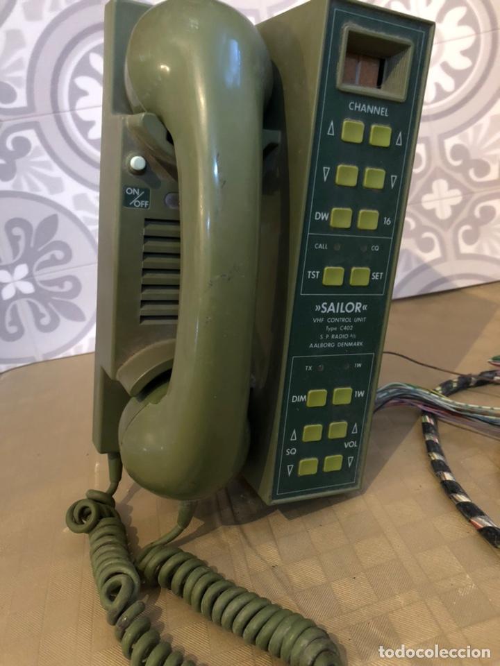 SAILOR C402 VHF CONTROL UNIT (Militar - II Guerra Mundial)