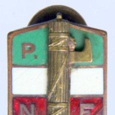 Militaria: E528 ITALIA: INSIGNIA PARTIDO NACIONAL FASCISTA - ESMALTADA - DISEÑO LORIOLI. Lote 204734483