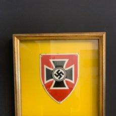 Militaria: ESCUDO NAZI . PLACA OCUPACION NAZIS EN CHECOSLOVAQUIA. Lote 204807151