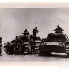 Militaria: CARROS PANZER EN BELGICA. 24X18.. Lote 205182278