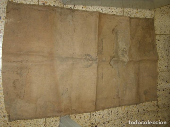 Militaria: Saco de pan para el ejército alemán, 2ª Guerra Mundial. Año 1942 - Foto 2 - 205342682