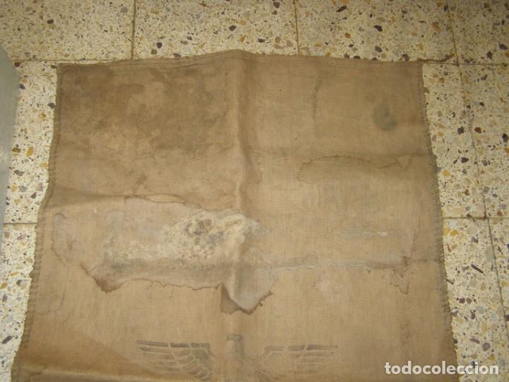 Militaria: Saco de pan para el ejército alemán, 2ª Guerra Mundial. Año 1942 - Foto 4 - 205342682