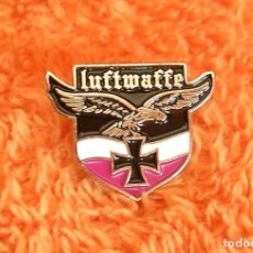 Militaria: INSIGNIA PIN RETRO DE LUFTWAFFE - FUERZA AEREA ALEMANIA NAZI II GUERRA MUNDIAL - AGUILA CRUZ HIERRO. Lote 205573822