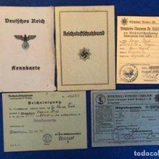Militaria: COLECCIÓN DE DOCUMENTACIÓN RLB DEFENSA AÉREA CIVIL ALEMANA DEL REÍCH, ERICH LANGE. Lote 205589707