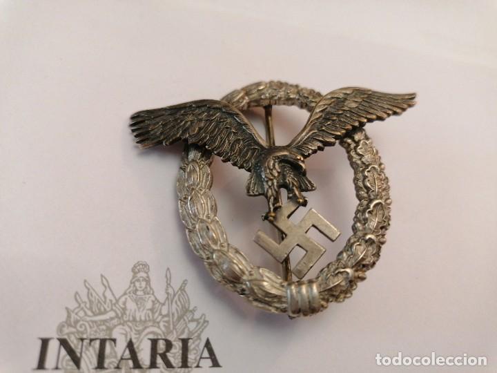 Militaria: Distintivo de Luftwaffe de Piloto - Foto 2 - 205646563