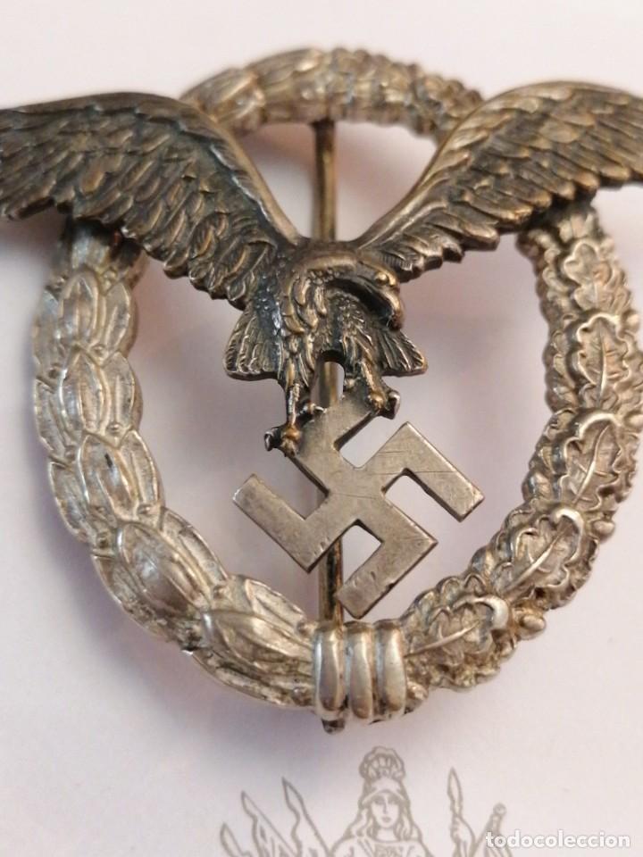 Militaria: Distintivo de Luftwaffe de Piloto - Foto 3 - 205646563