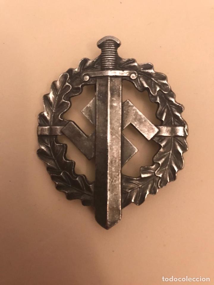 Militaria: Medalla Nazi. CA-deportes SA de plata. Original. - Foto 3 - 205816510
