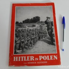 Militaria: LIBRO FOTOGRAFICO HITLER IN POLEN (HEINRICH HOFFMANN). Lote 206383096