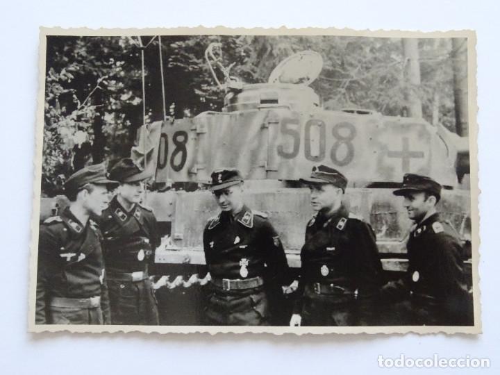 Militaria: Soldados tanques segunda guerra mundial División Panzer - Foto 3 - 206469167