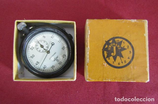Militaria: Antiguo cronometro militar alemán II segunda guerra mundial III reich usado por la Kriegsmarine - Foto 2 - 206812125