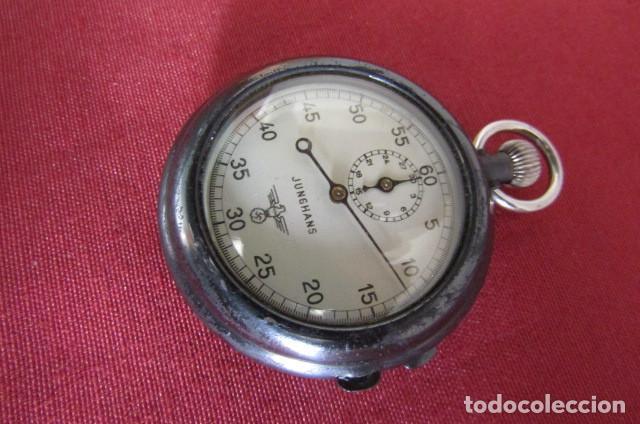 Militaria: Antiguo cronometro militar alemán II segunda guerra mundial III reich usado por la Kriegsmarine - Foto 3 - 206812125