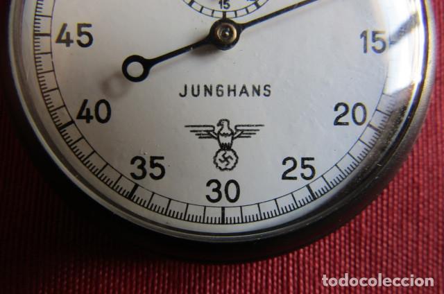 Militaria: Antiguo cronometro militar alemán II segunda guerra mundial III reich usado por la Kriegsmarine - Foto 6 - 206812125