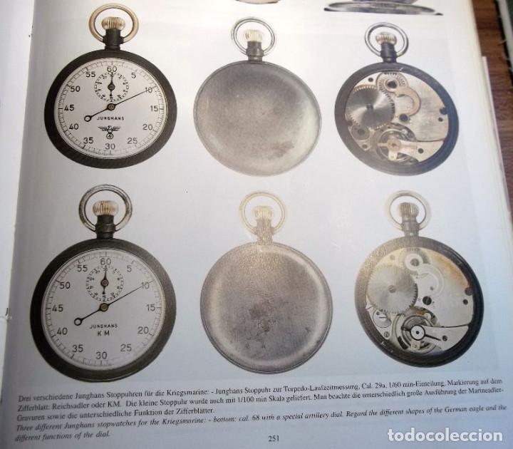 Militaria: Antiguo cronometro militar alemán II segunda guerra mundial III reich usado por la Kriegsmarine - Foto 15 - 206812125