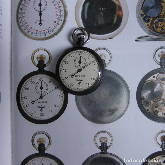 Militaria: Antiguo cronometro militar alemán II segunda guerra mundial III reich usado por la Kriegsmarine - Foto 16 - 206812125