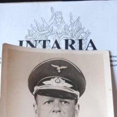 Militaria: FOTO CON AUTÓGRAFO DEL GENERAL MILCH DE LUFTWAFFE. Lote 206898505
