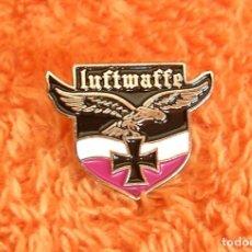 Militaria: INSIGNIA PIN RETRO DE LUFTWAFFE - FUERZA AEREA ALEMANIA NAZI II GUERRA MUNDIAL - AGUILA CRUZ HIERRO. Lote 207085880