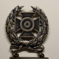 Militaria: INSIGNIA PLATA .EXPERTO TIRADOR CON MORTERO PESADO DE 60 MM.EJERCITO U.S.A. 2ª GUERRA MUNDIAL.. Lote 208393673