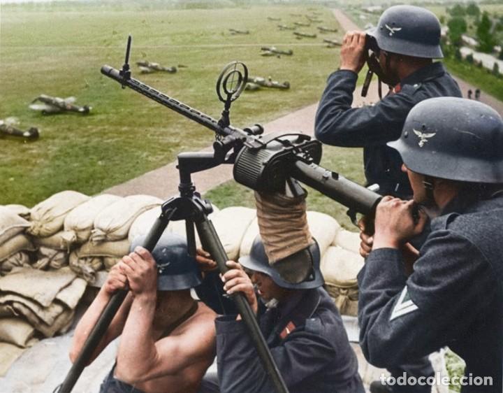 Militaria: Cargador de MG15. Wehrmacht Luftwaffe Kriegsmarine Guerra Civil Legion Kondor Afrika Korps - Foto 16 - 208402718