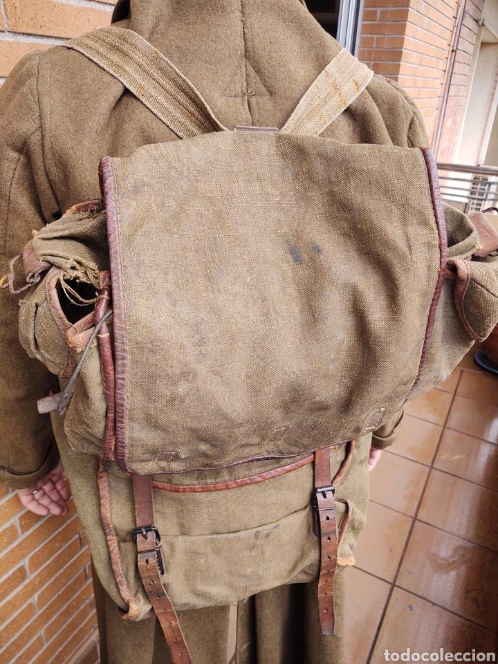 Militaria: Lote Equipo francés 1936 2ª Guerra Mundial WW2. Bolsa Mochila - Foto 3 - 208665272