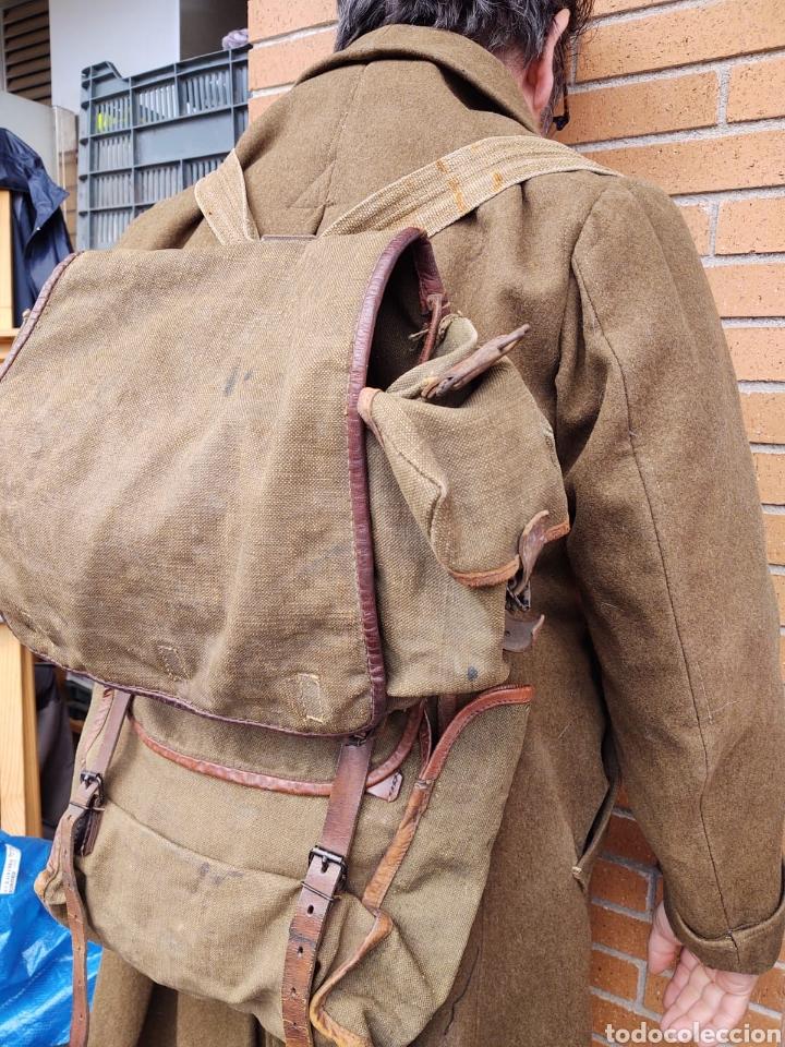 Militaria: Lote Equipo francés 1936 2ª Guerra Mundial WW2. Bolsa Mochila - Foto 4 - 208665272
