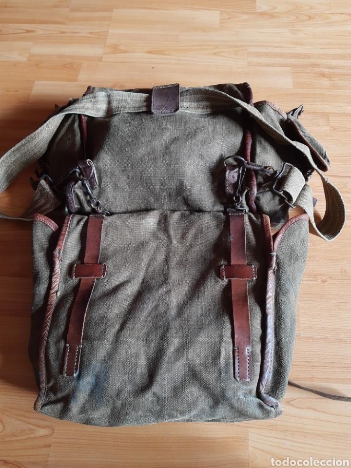 Militaria: Lote Equipo francés 1936 2ª Guerra Mundial WW2. Bolsa Mochila - Foto 5 - 208665272