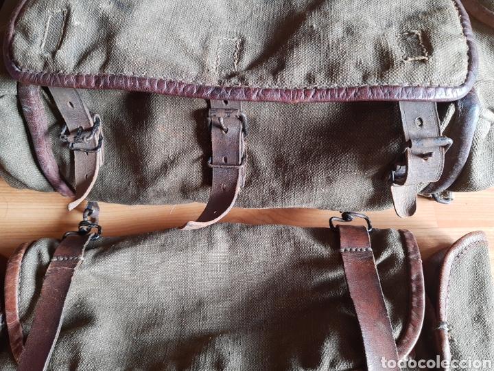 Militaria: Lote Equipo francés 1936 2ª Guerra Mundial WW2. Bolsa Mochila - Foto 8 - 208665272