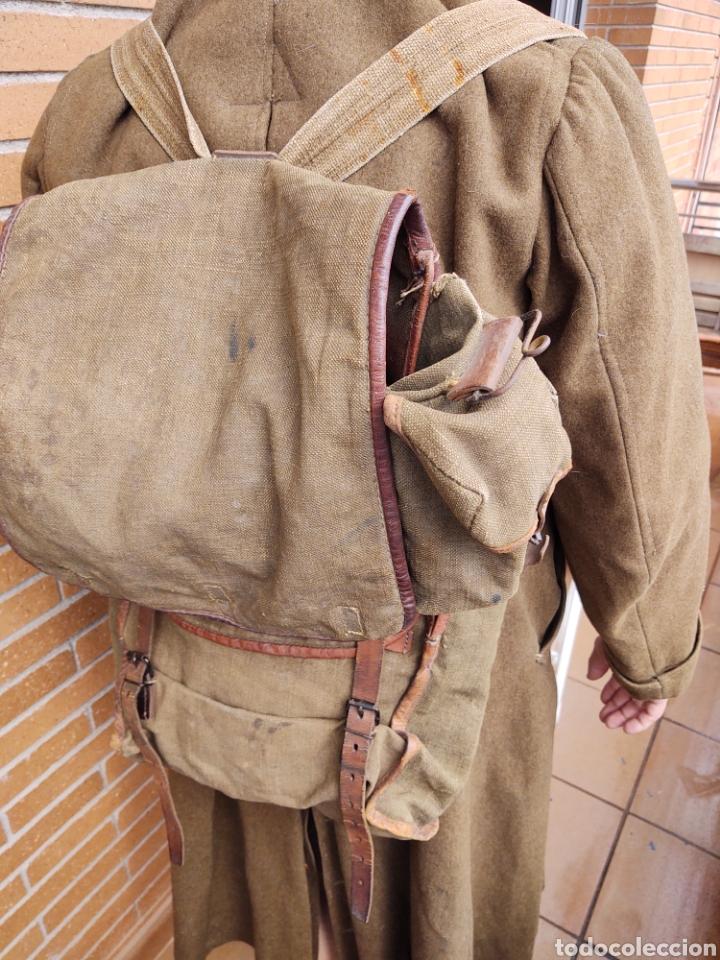 Militaria: Lote Equipo francés 1936 2ª Guerra Mundial WW2. Bolsa Mochila - Foto 10 - 208665272
