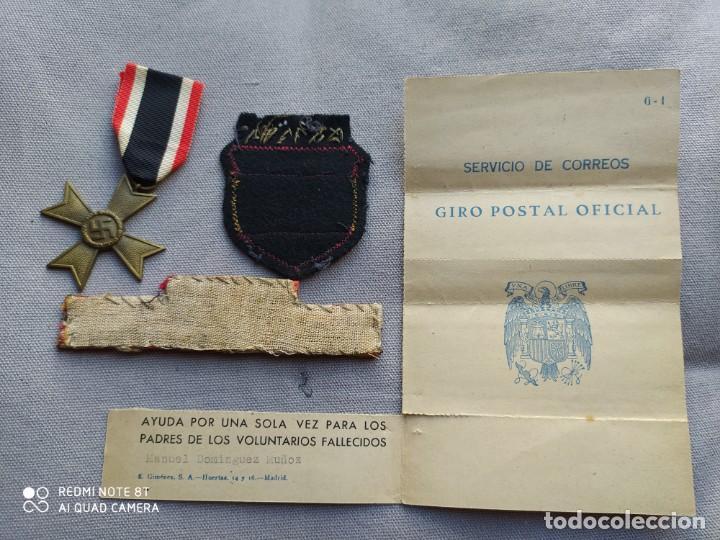 Militaria: División azul, lote ORIGINAL. - Foto 2 - 210439115