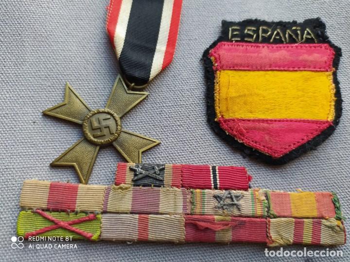 Militaria: División azul, lote ORIGINAL. - Foto 4 - 210439115