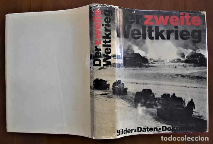 Militaria: DER ZWEITE WELTKRIEG: BILDER, DATEN, DOKUMENTE (DER 2.WELTKRIEG) - HERBERT MICHAELIS - ALEMANIA 1968 - Foto 2 - 210740775