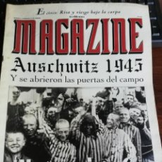 Militaria: MAGAZINE EL MUNDO Nº 272. AUSCHWITZ 1945 NUNCA JAMÁS. Lote 210788999