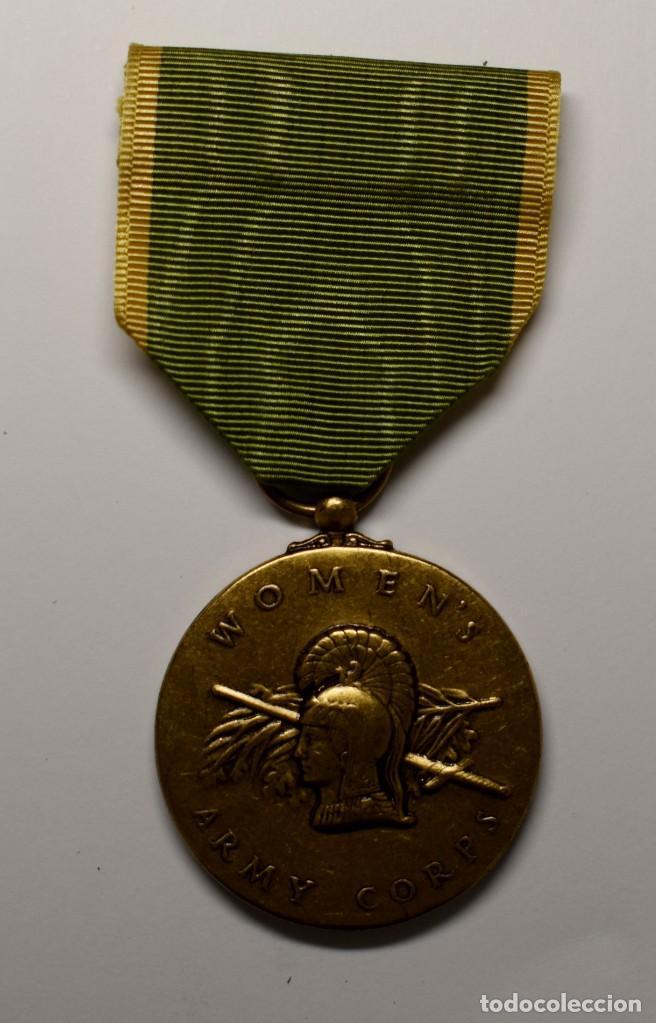MEDALLA DEL CUERPO DE MUJERES VOLUNTARIAS DE LA MARINA U.S.A. AÑOS 1942-1943.2ª GUERRA MUNDIAL (Militar - II Guerra Mundial)
