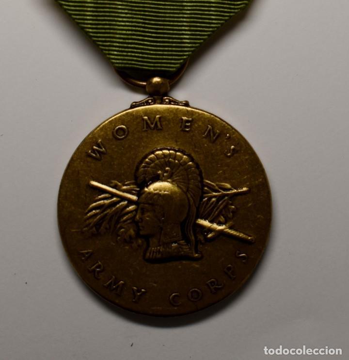 Militaria: MEDALLA del CUERPO de MUJERES VOLUNTARIAS DE LA MARINA U.S.A. AÑOS 1942-1943.2ª GUERRA MUNDIAL - Foto 2 - 210838034