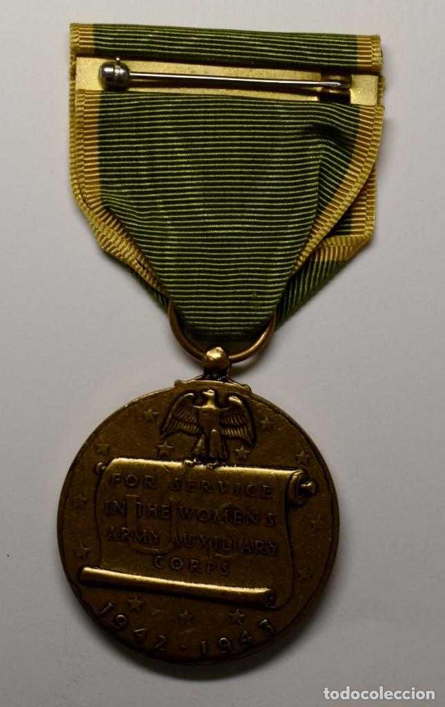 Militaria: MEDALLA del CUERPO de MUJERES VOLUNTARIAS DE LA MARINA U.S.A. AÑOS 1942-1943.2ª GUERRA MUNDIAL - Foto 3 - 210838034