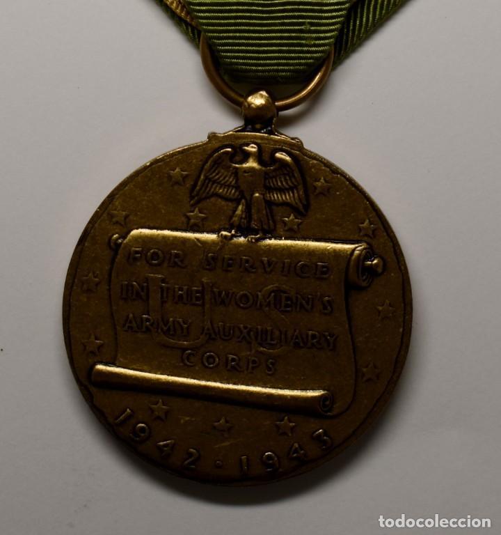 Militaria: MEDALLA del CUERPO de MUJERES VOLUNTARIAS DE LA MARINA U.S.A. AÑOS 1942-1943.2ª GUERRA MUNDIAL - Foto 4 - 210838034
