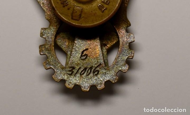 Militaria: INSIGNIA DE LOGROS DEPORTIVOS GTO de 2ª CLASE DE RUSIA DEL AÑO 1940.MUY BUEN ESTADO - Foto 5 - 210946122