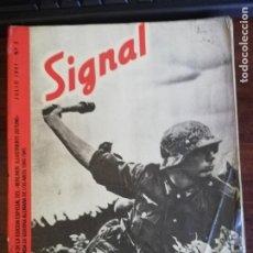 Militaria: SIGNAL. JULIO 1941. Nº 2. Lote 211399545