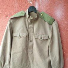 Militaria: GUERRERA CON PANTALONES DE SOLDADO . EJERCITO. ROJO.. Lote 211691391