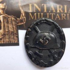 Militaria: DISTINTIVO DE HERIDO CATEGORÍA NEGRA. Lote 245748580