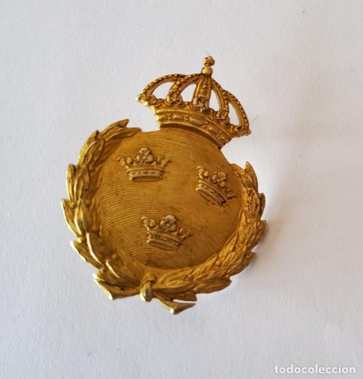 MEDALLA DE PLATA AL MERITO MILITAR DE PRIMERA CLASE DE SUECIA. SEGUNDA GUERRA MUNDIAL (Militar - II Guerra Mundial)