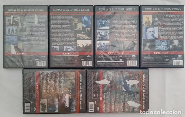 Militaria: DVD HISTORIA DE LA II GUERRA MUNDIAL - Foto 2 - 213480772