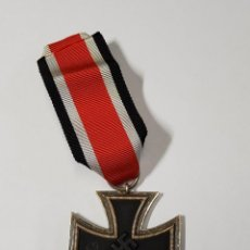 """Militaria: CRUZ DE HIERRO DE SEGUNDA CLASE DE ALEMANIA.MARCAJE DE FABRICANTE """"27"""" EN ANILLA.2ª GUERRA MUNDIAL. Lote 213818378"""